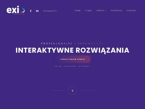Exio.pl - Sklepy i strony internetowe