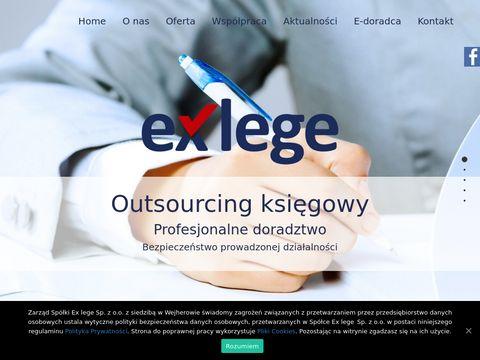 KsiÄ™gowa Wejherowo - Exlege