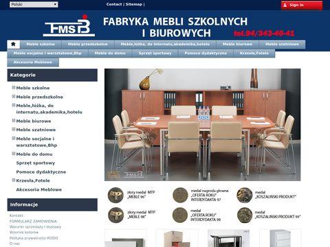 FMSiB: Szafy Koszalin, Meble biurowe i szkolne