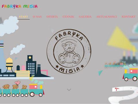 Urodziny dla dzieci - Fabryka Misia