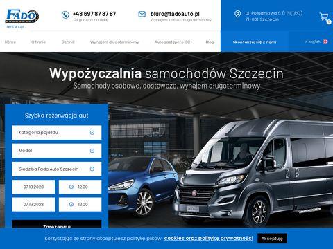 Wypożyczalnia samochodów Szczecin - Fado.