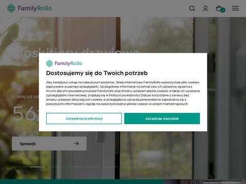 FamilyRollo - rolety materiałowe, żaluzje plisowane