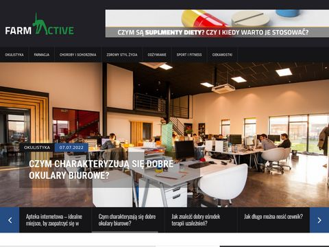 Medycyna | Zdrowie | Zdrowy styl życia - farmactive.pl