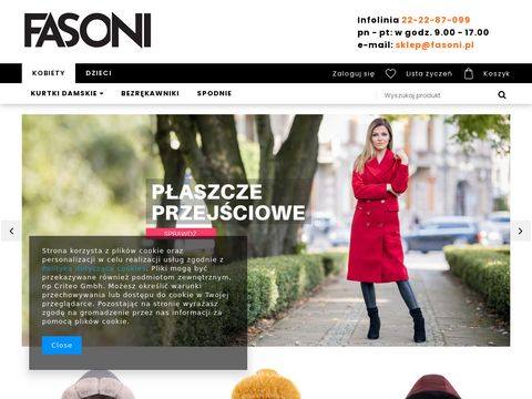 Odzie偶 damska - sklep internetowy Fasoni.pl