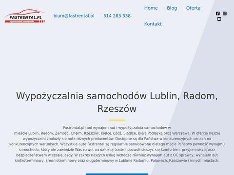 Wypo偶yczalnia samochod贸w Lublin