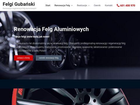 Renowacja Felg Aluminiowych - felgigubanski.pl