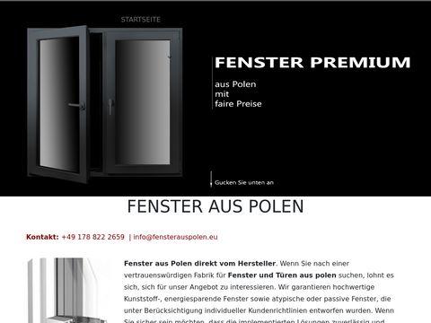 Polnische fenster günstige kaufen