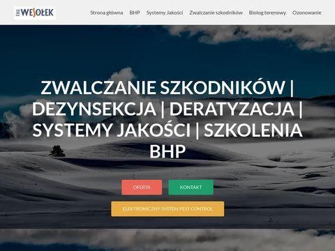 Fhuwesolek.pl - szkuteczna deratyzacja i ozonowanie hoteli