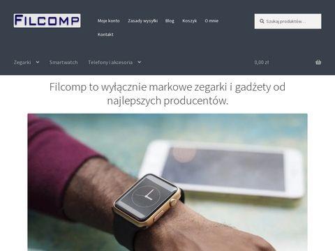 Sklep internetowy z zegarkami - Filcomp.pl
