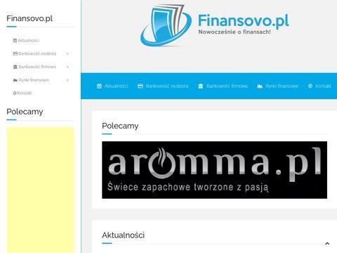 Finansovo.pl - Nowocze艣nie o finansach!