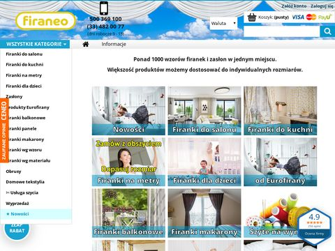 Firany firanex.NET - Profesjonalne zakupy ! firany, firanki, zas艂ony