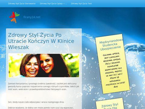 Firany24.net pomagamy dekorować okna firankami.