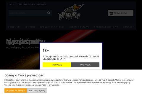 Race dymne i morskie, Å›wiece dymne, fajerwerki, petardy, flary meczowe - sklep Fire.shop.pl