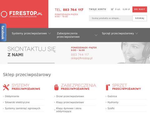 FireStop.pl Ochrona przeciwpożarowa