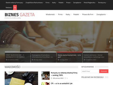 Biznes - WÅ'asny biznes / firma