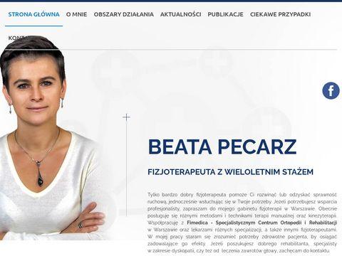 Gabinet fizjoterapii, prywatna rehabilitacja Warszawa