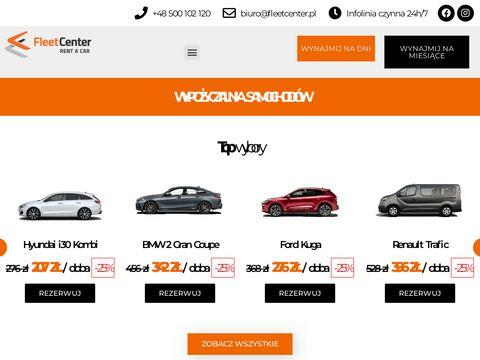 Wypożyczalnia samochodów Łódź