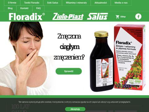 Brak 偶elaza co je艣膰 - floradix.pl