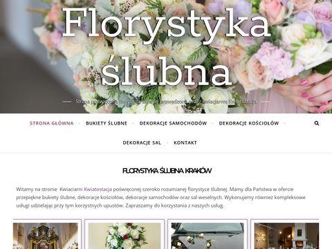 Florystyka ślubna, bukiety ślubne Kraków