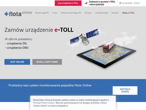 Flota-Online - Zarządzanie i Monitoring GPS Pojazdów