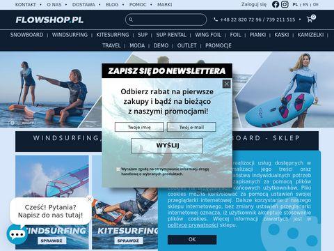 Sklep windsurfingowy Warszawa | flowshop.pl