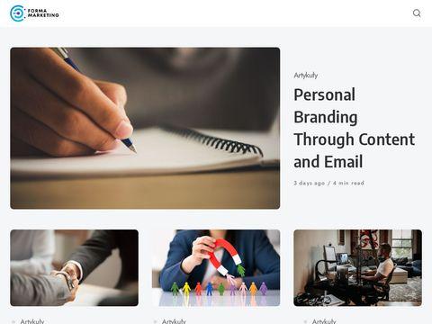 Forma Marketing - tworzenie stron www