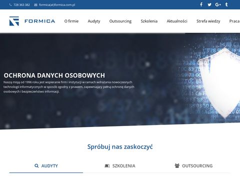Administrator Bezpieczeństwa Informacji - Formica Białystok