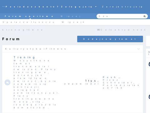 Forum kulturystyka
