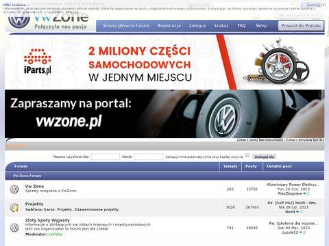 Vwzone.pl   Forum VW Maniak贸w - Volkswagen, VAG, Skoda, Audi, Seat bull; Strona g艂贸wna