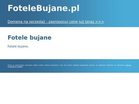 Fotel bujany - Bujaki - Fotele Bujane .pl - Fotele Bujane