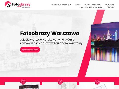 Fotografia na płótnie - fotoobrazy.warszawa.pl