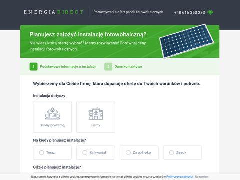 Fotowoltaika - mniejsze rachunki za energiÄ™