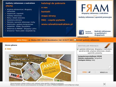 Artykuły reklamowe z logo firmy - gadżety - FRAM