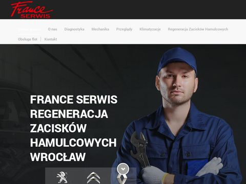 Regeneracja zacisków hamulcowych we Wrocławiu | Serwis Samochodowy | France Serwis