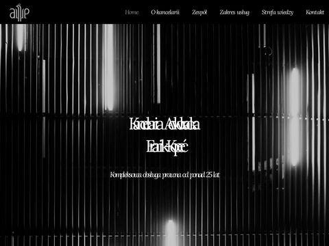 Kancelaria adwokacka Aleksander Franik Grzegorz Kopeć