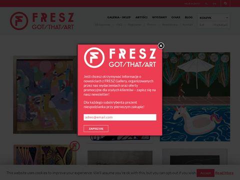 Fresz Gallery - sztuka wsp贸艂czesna