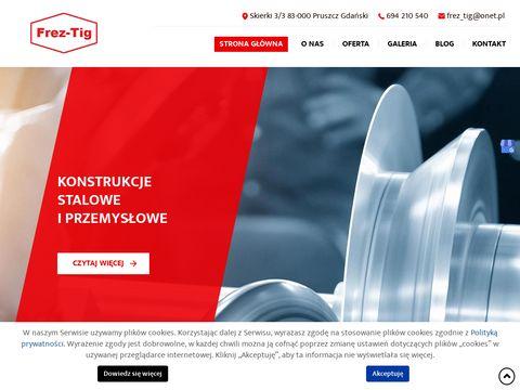 frez-tig.com.pl monta偶 konstrukcji stalowych