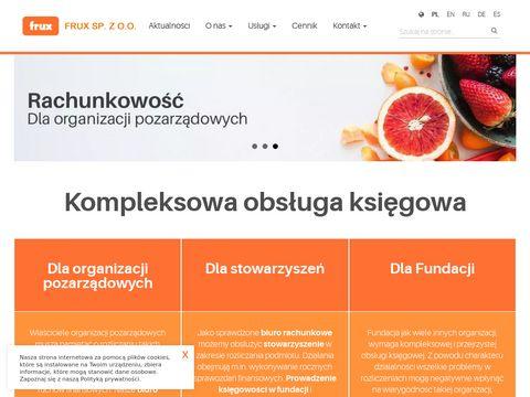 Www.frux.org.pl Biuro rachunkowe
