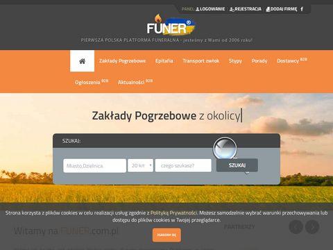 Zak艂ad Pogrzebowy - Funer portal pogrzebowy