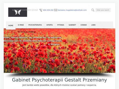 """Gabinet Psychoterapi Gestalt """"Przemiany"""""""