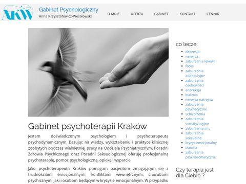 Dobry psychoterapeuta w Krakowie