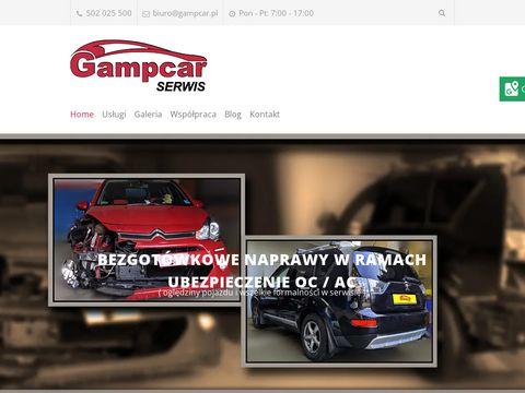 Gampcar.pl naprawy powypadkowe Krak贸w