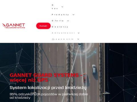 Lokalizacja samochodu - System Gannet.pl