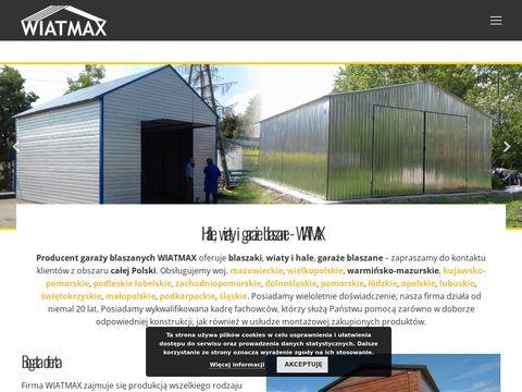 Wiatmax - wiaty i hale blaszane - kojce dla ps贸w