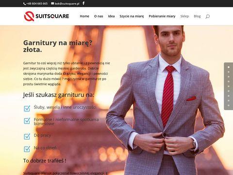 MÄ™skie garnitury na miarÄ™ - Sklep ONLINE