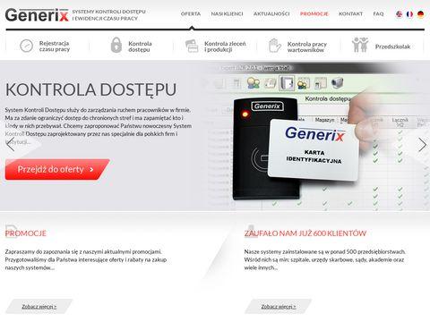 Producent system贸w rejestracji czasu pracy i kontroli dost臋pu
