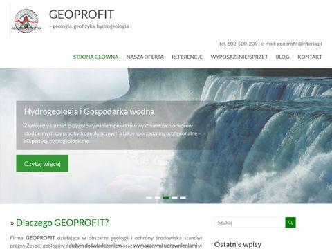 Odwierty Usługi Geologiczne Hydrogeologiczne Geoprofit Katowice