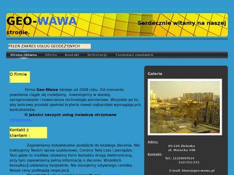 GEO-WAWA - us艂ugi geodezyjne