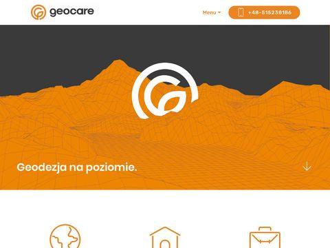 Geodezja Kraków - GeoCare - Geodeta Kraków