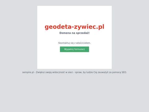 JÓZEF SO�TYSIK obsługa prawna z zakresu geodezji Żywiec
